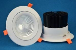Встраиваемый поворотный светодиодный светильник PR-DL-R-40W
