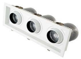 Карданный поворотный светодиодный светильник PR-LR-S03 90W
